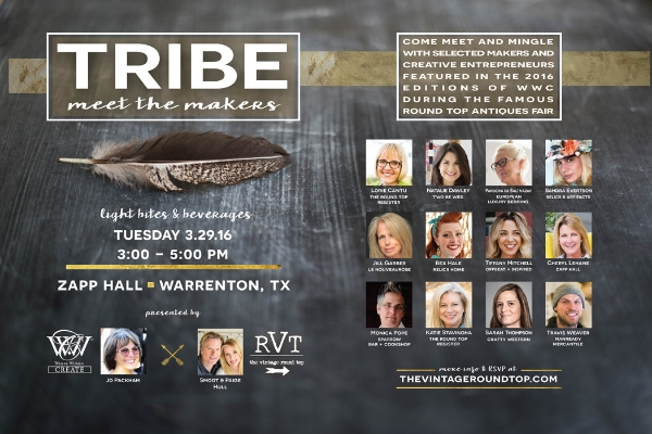 TRIBE - MEET THE MAKERS, THE VINTAGE ROUND TOP
