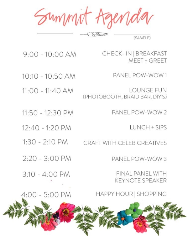 The Vintage Round Top - Flea Style Summit Agenda