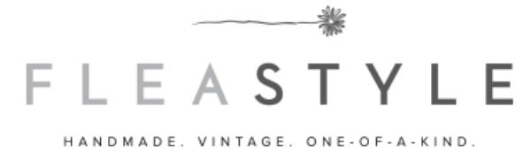 The Vintage Round Top - Flea Style Logo
