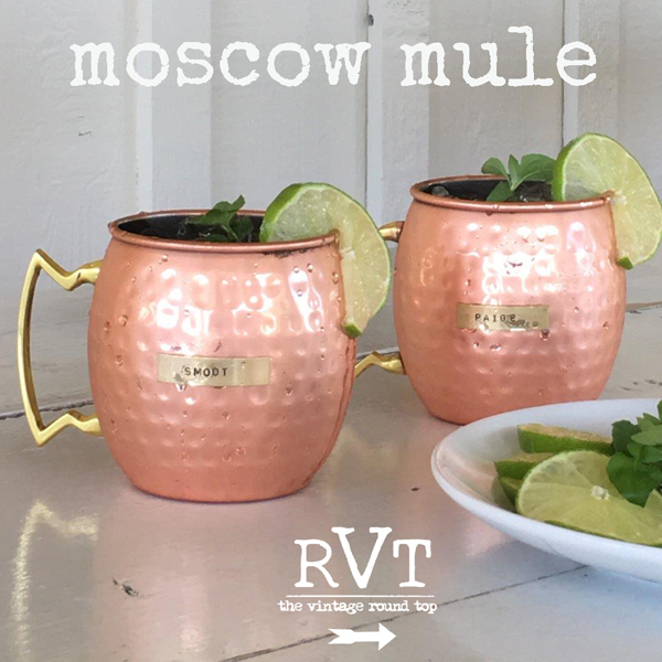 MODERN VINTAGE STYLE - MOSCOW MULE RECIPE