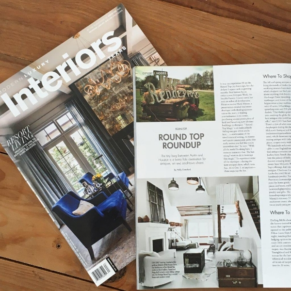 THE VINTAGE ROUND TOP - MODERN LUXURY MAGAZINE FEATURE