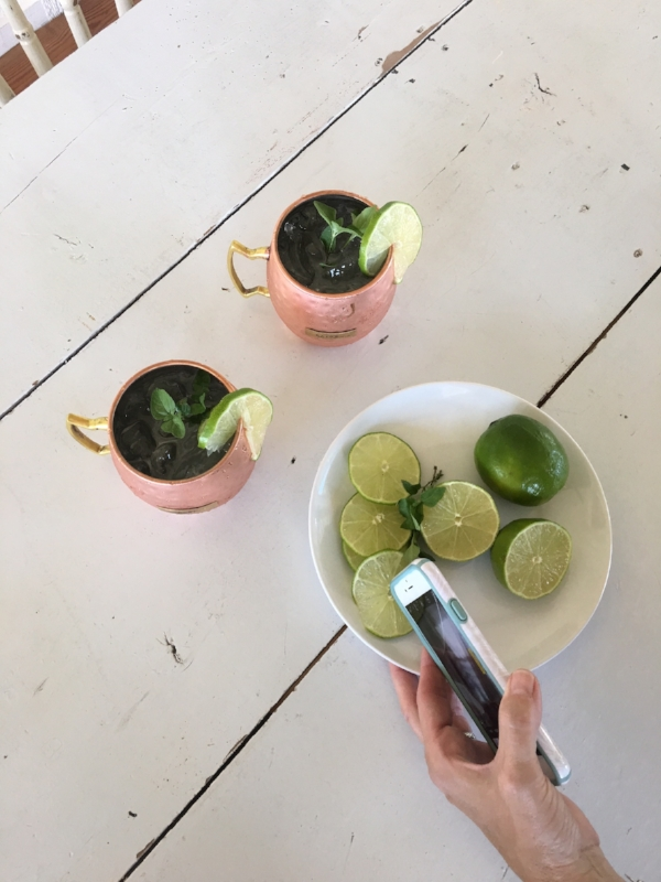 MODERN VINTAGE STYLE - MOSCOW MULES, THE VINTAGE ROUND TOP, PAIGE'S BLOG