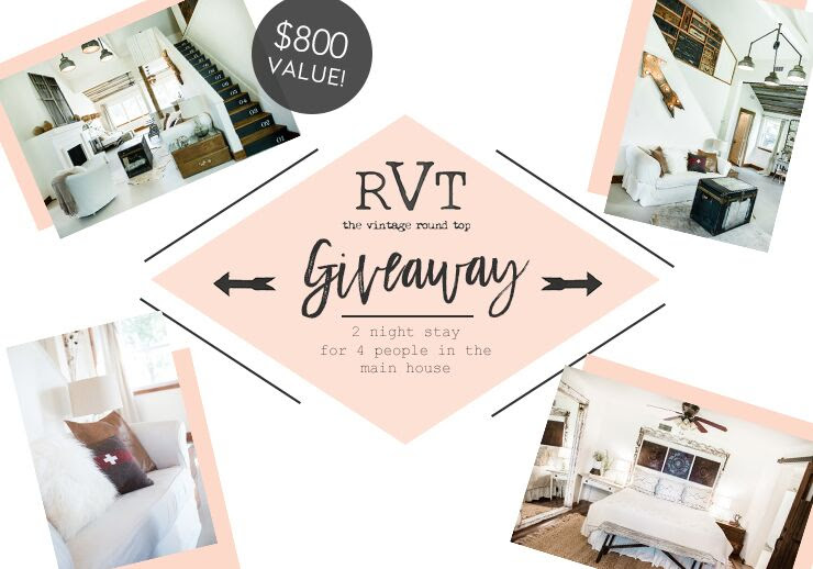 THE VINTAGE ROUND TOP - FLEA STYLE GIVEAWAY