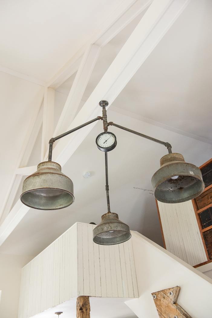 REPURPOSED LIGHTING, THE VINTAGE ROUND TOP