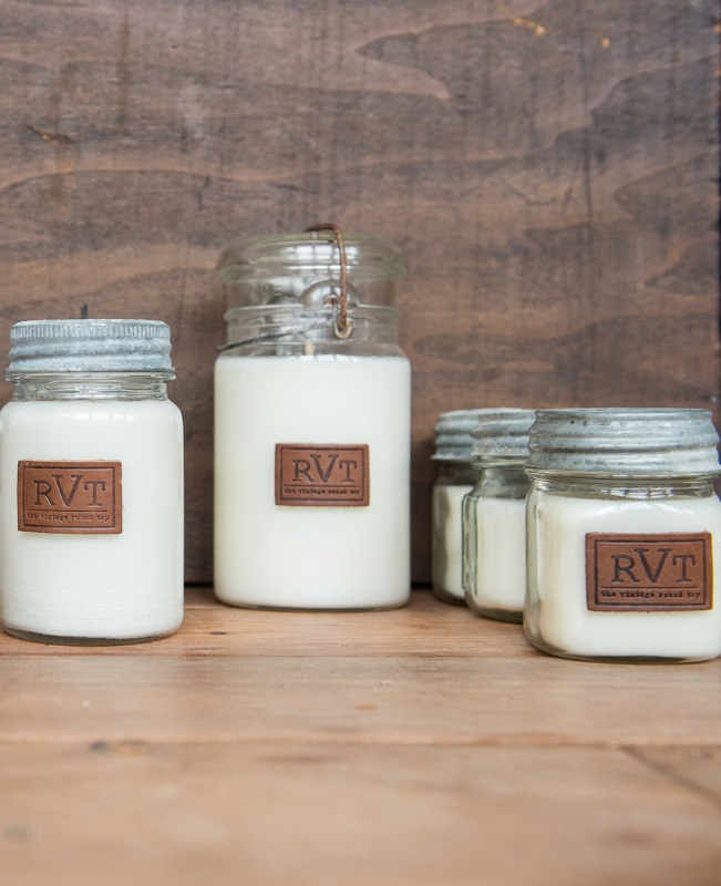 RVT HANDMADE CANDLES, THE VINTAGE ROUND TOP