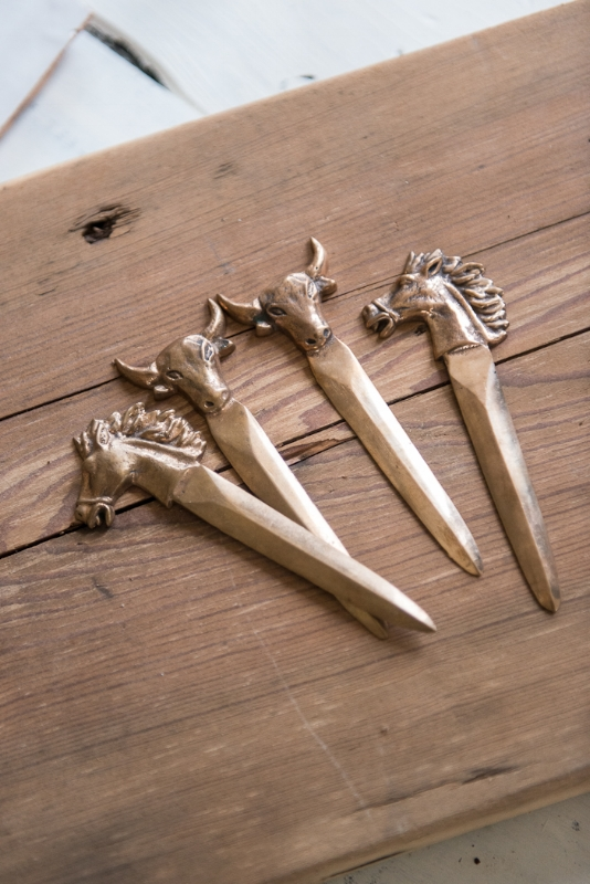 FRENCH VINTAGE LETTER OPENERS, THE VINTAGE ROUND TOP