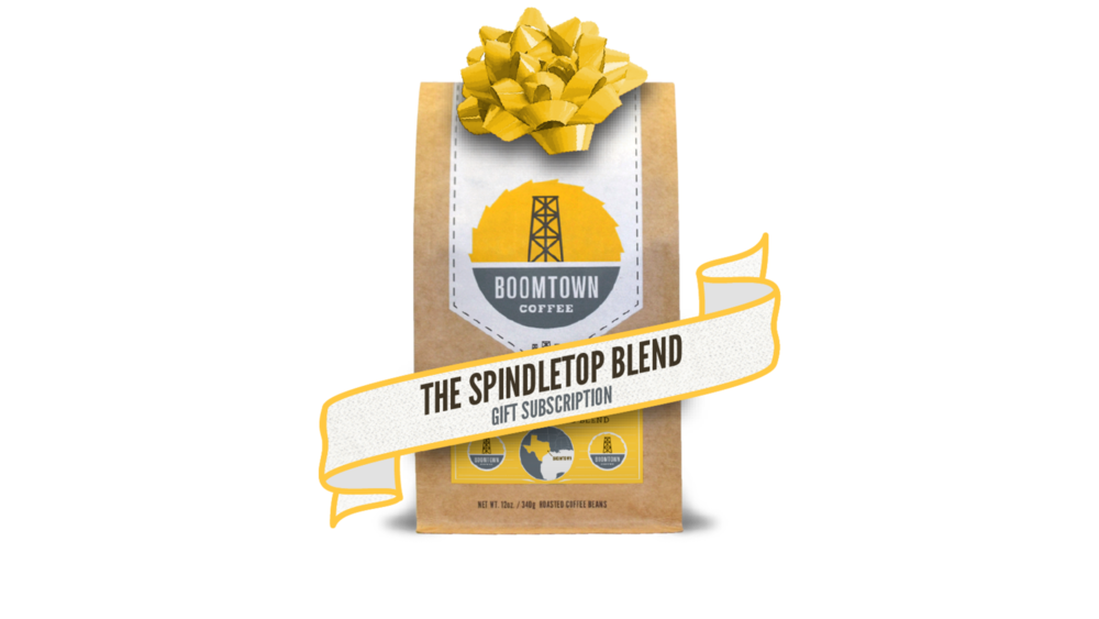 BOOMTOWN COFFEE GIFT SUBSCRIPTION, THE VINTAGE ROUND TOP
