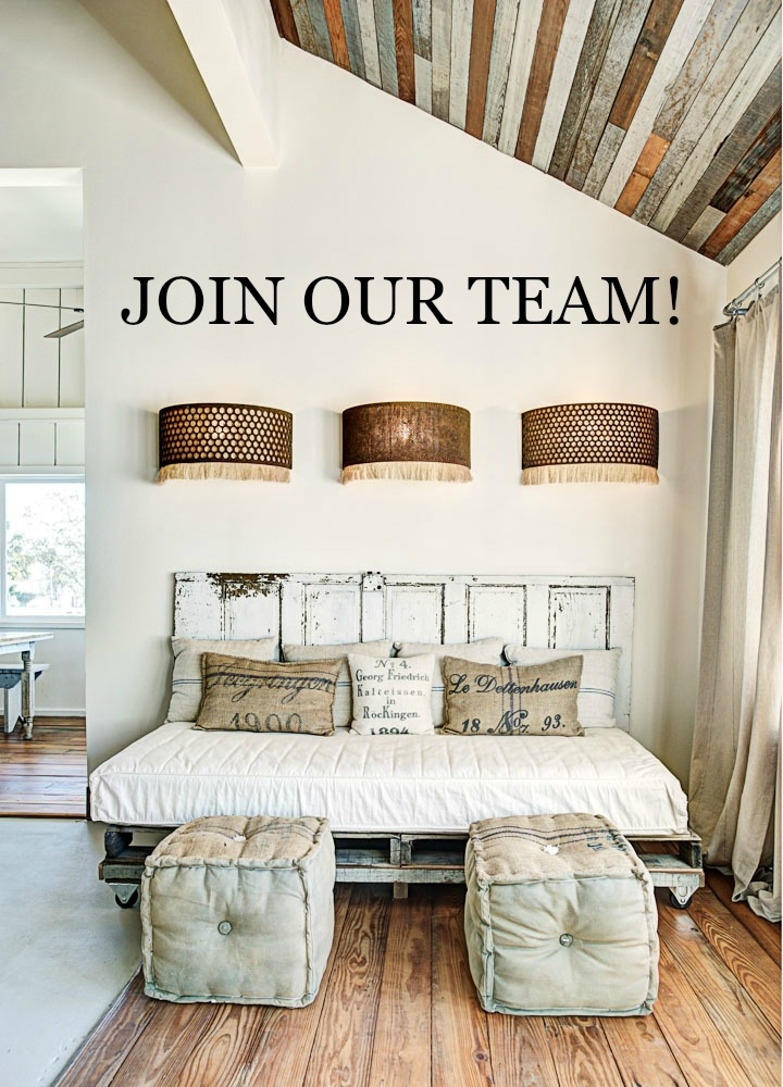 The Vintage Round Top is hiring a Creative Assistant in our Lake Travis office! Visit our blog for details.