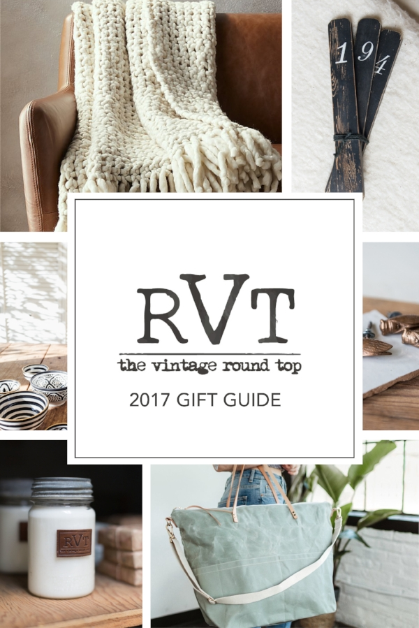 The Vintage Round Top Modern Vintage Holiday Gift Guide.