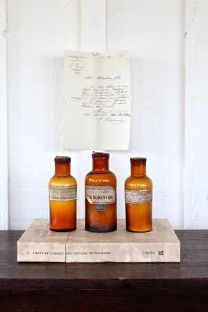 French Apothecary Bottles - Was $135 / Now $108