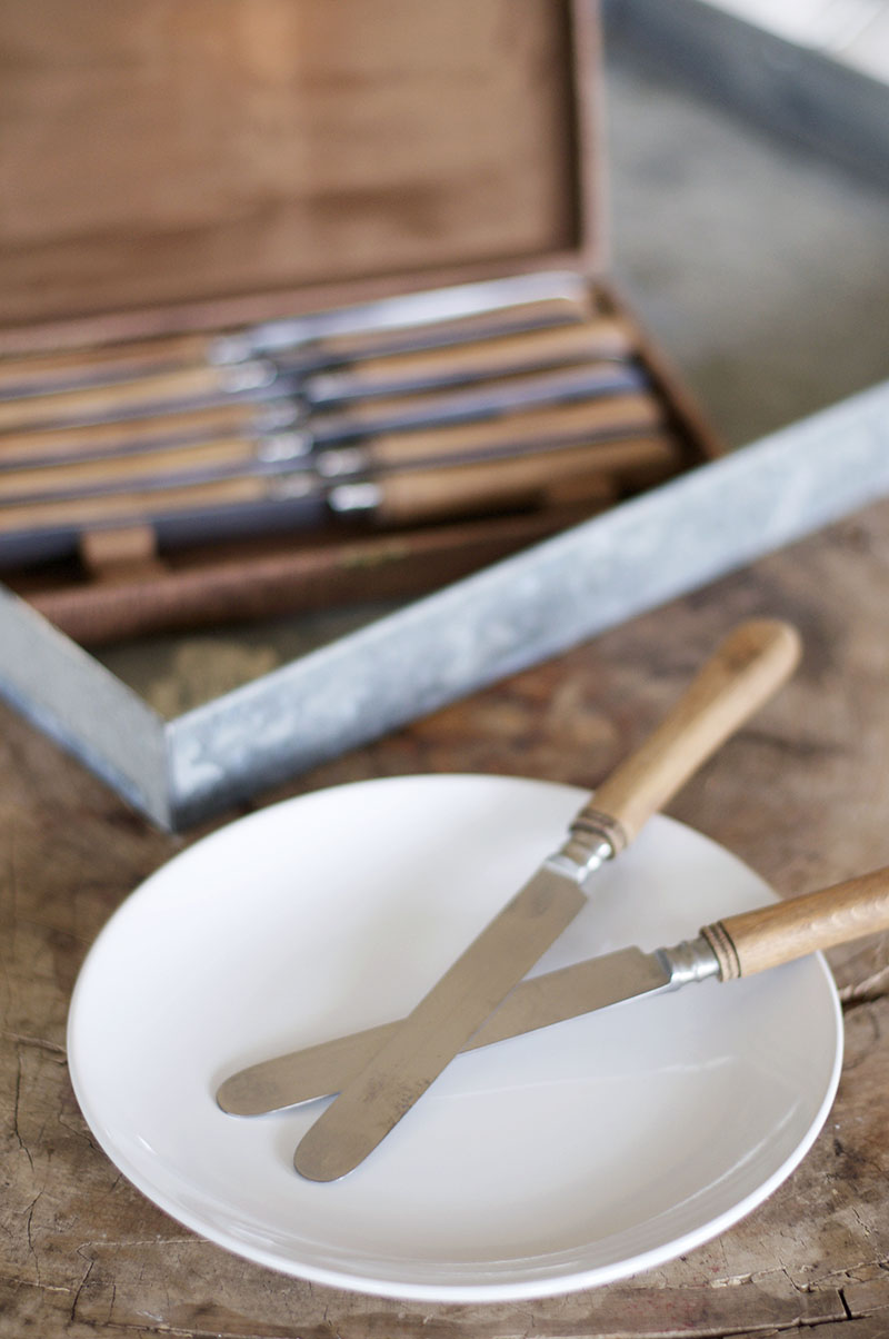 French Butter Knife Set - Was $120 / Now $96