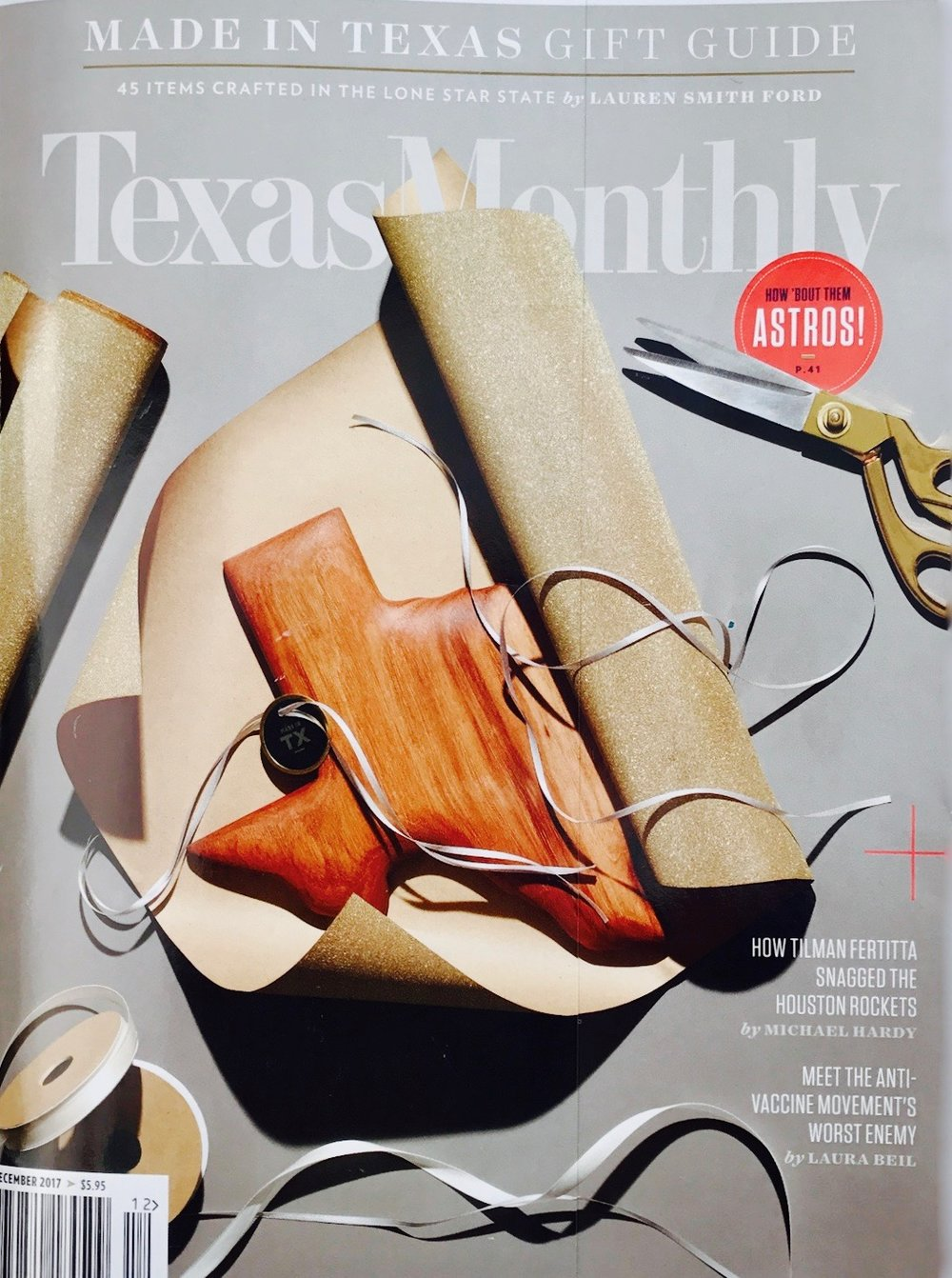 Texas Monthly December 2017 Issue