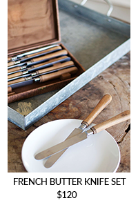 French Butter Knife Set