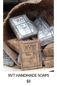 RVT Handmade Soap Collection