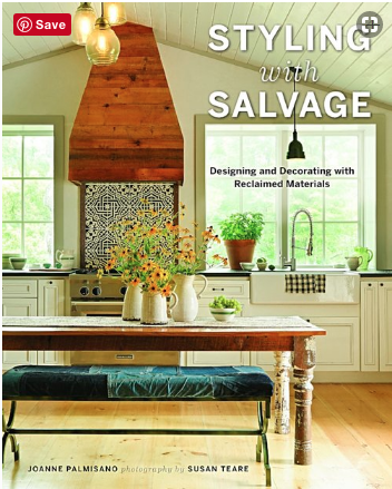 The Vintage Round Top Featured in Styling with Salvage
