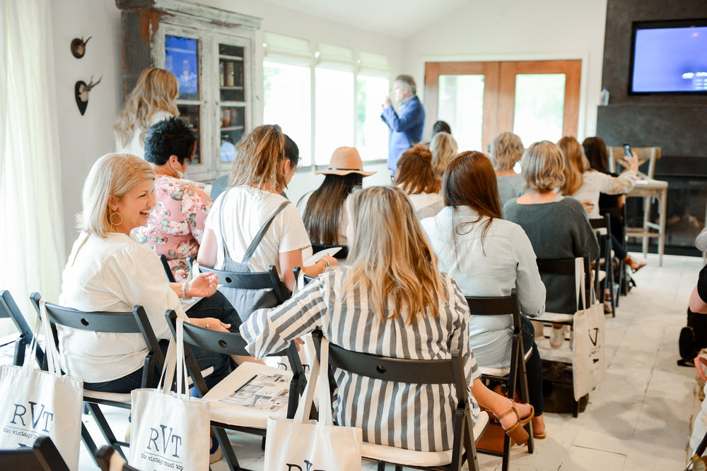 Business, Branding & Social Media Workshop at The Vintage Round Top