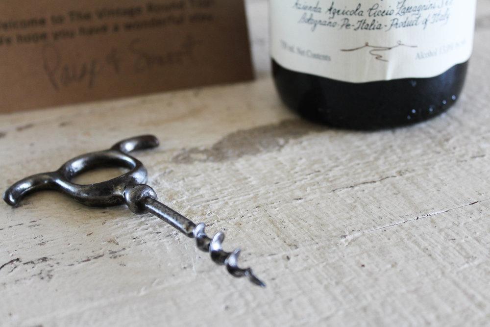 Antique Corkscrew - The Vintage Round Top | $22