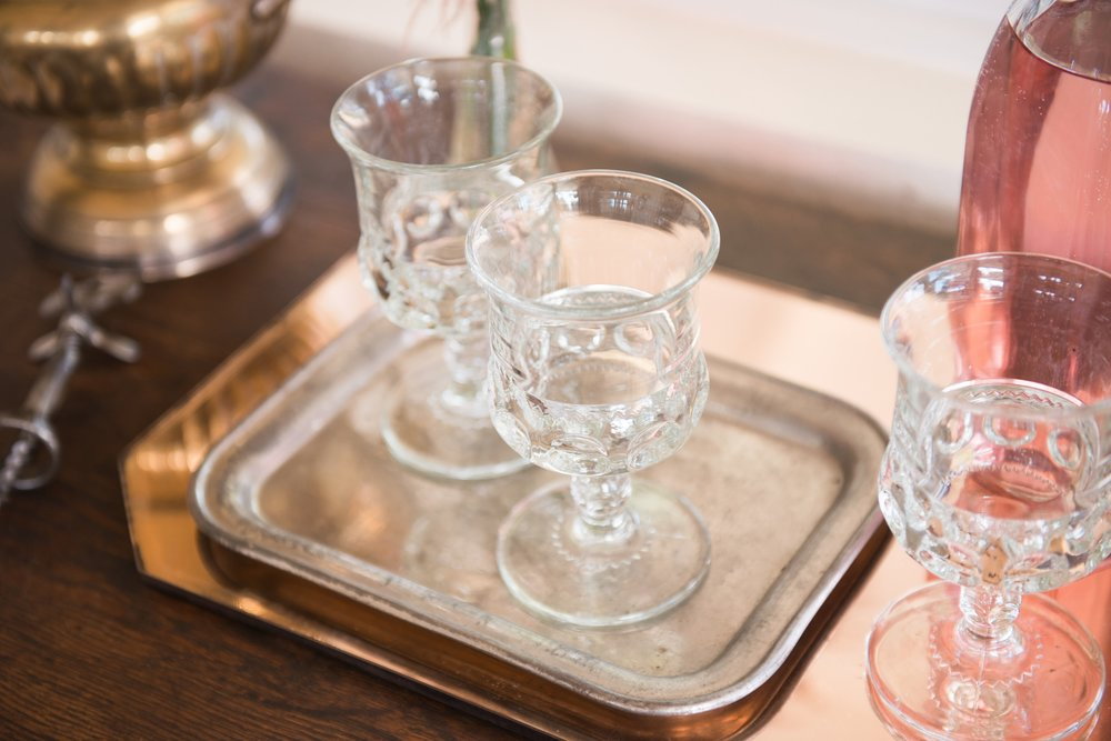 Pure vintage rentals. Origin Magazine. Vintage glassware. Modern vintage party. Tablescapes. Modern vintage decor. The Vintage Round Top. Collaboration. Paige's blog.