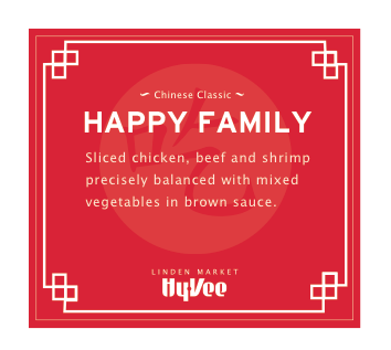 HyVee Chinese Sign