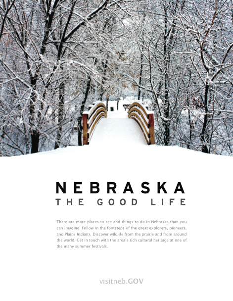Fictional Nebraska Poster. Photo credit : Craig McPeck
