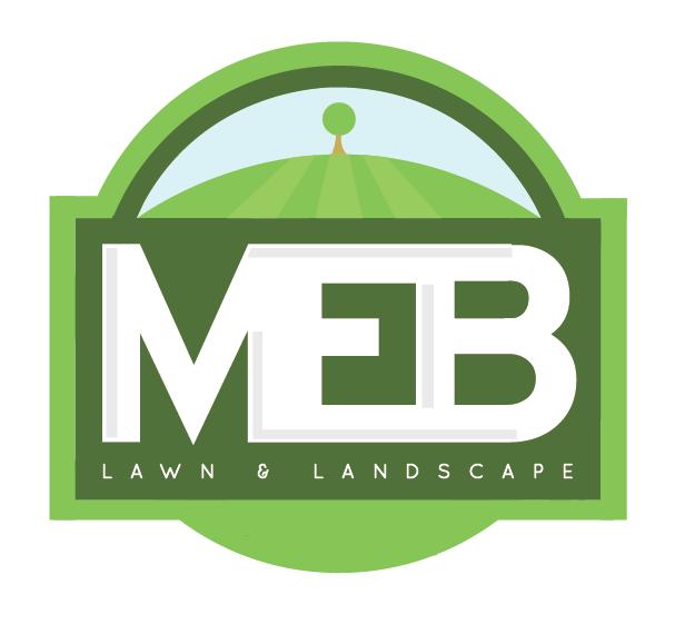 MEB Lawn & Landscape Logo