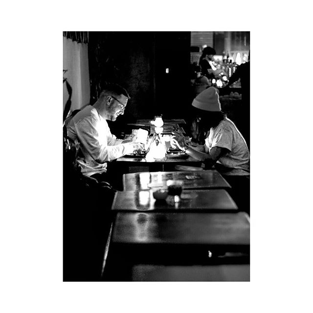 late night battleshipping by candlelight 🌙 captured by a stranger whose name we never got
