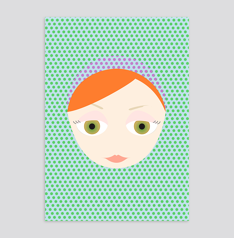 Kirrilee Stone Vector Illustration