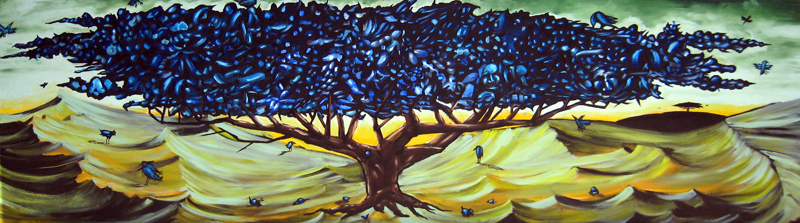 tree of life acrylic on panel 24 x 96 2006.jpg