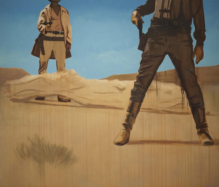 Face Down in the Desert Sand