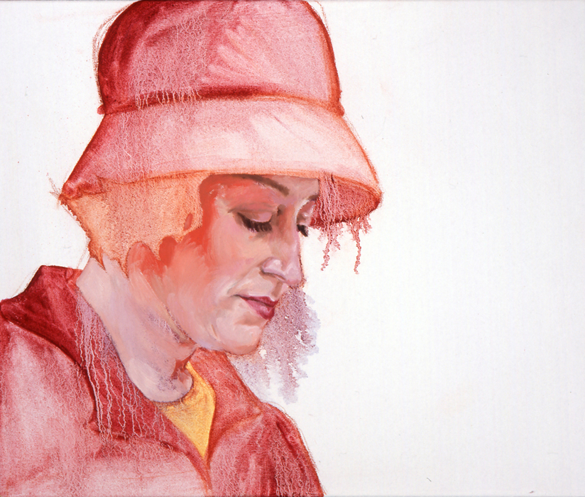 Molly in a Red Hat