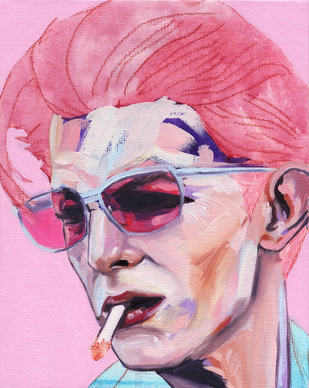 Thin White Duke Red