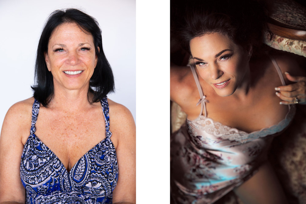 Janine Before & After Boudoir