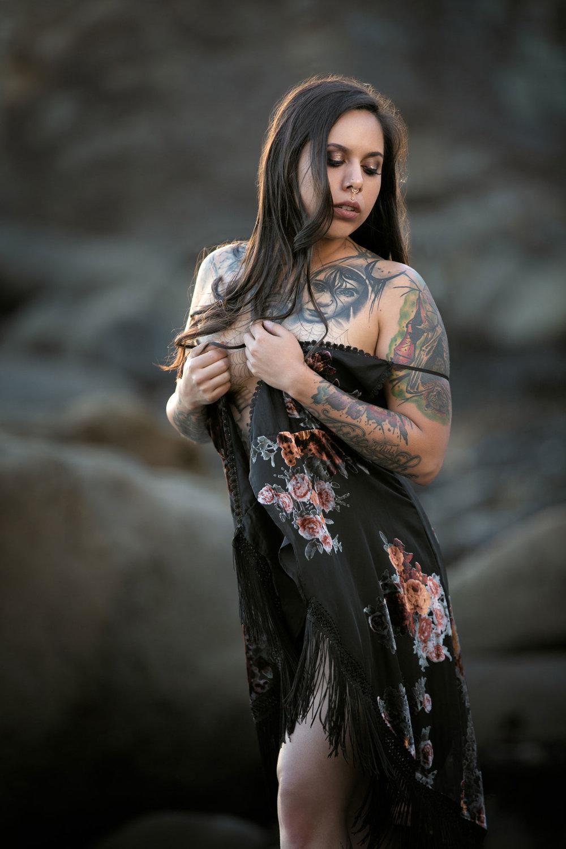 Outdoor Boudoir Photographer