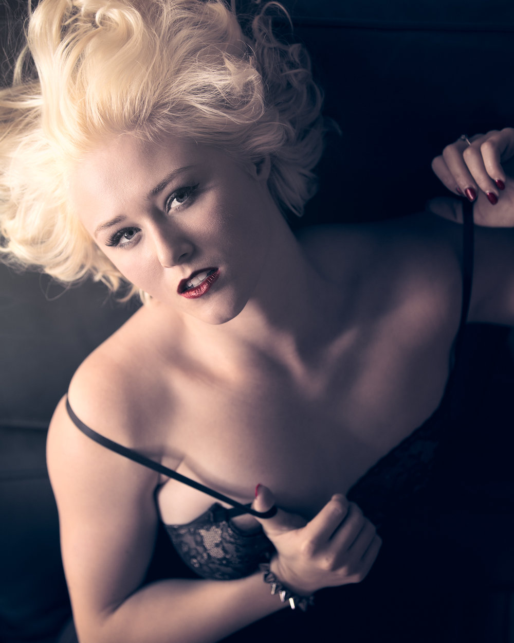 Meg Vega model portfolio shoot