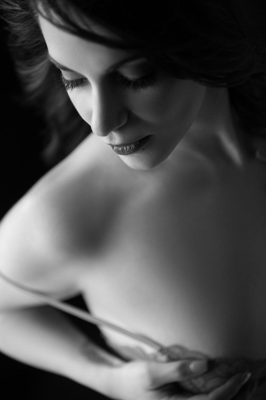B&W Boudoir Photography San Francisco