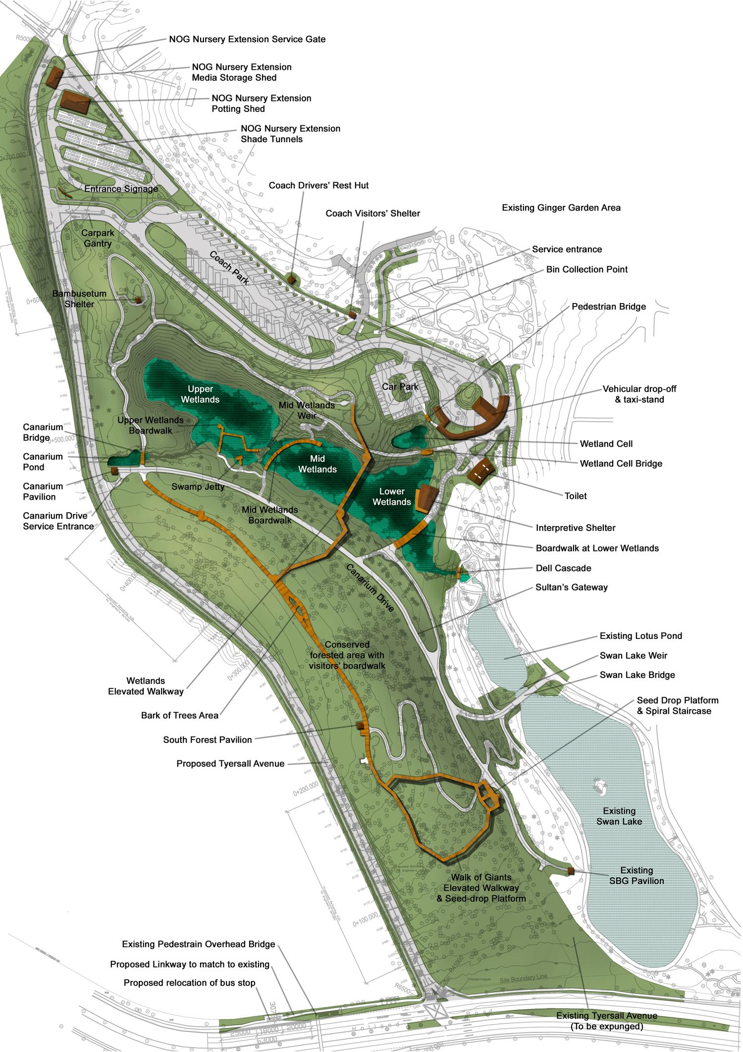 The learning forest singapore botanic gardens stephen for Home garden design singapore