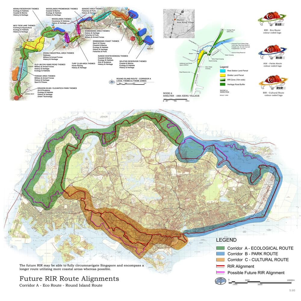 Round Island Route - Stephen Caffyn Landscape Design