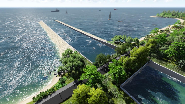 prev / next - Round Island Route - Coastal Adventure — Stephen Caffyn Landscape Design
