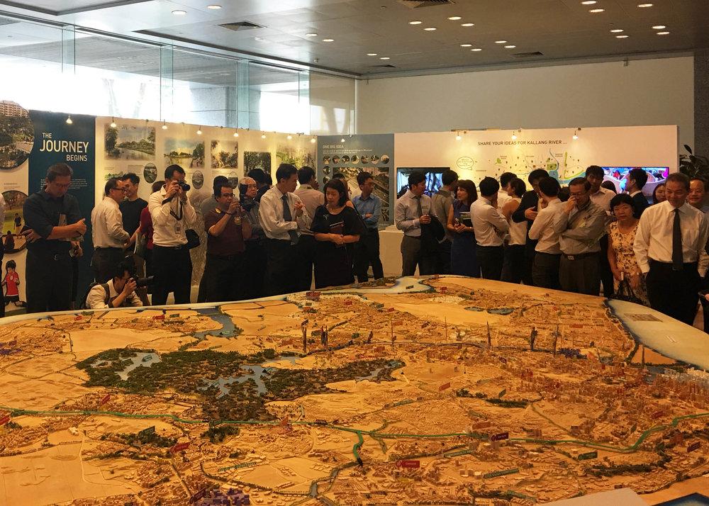 A River runs Through It - Exhibition at URA Centre