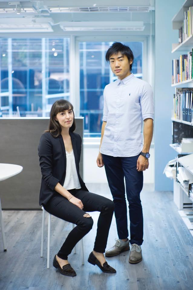 Lorène Faure & Kenny Kinugasa-Tsui, founding directors