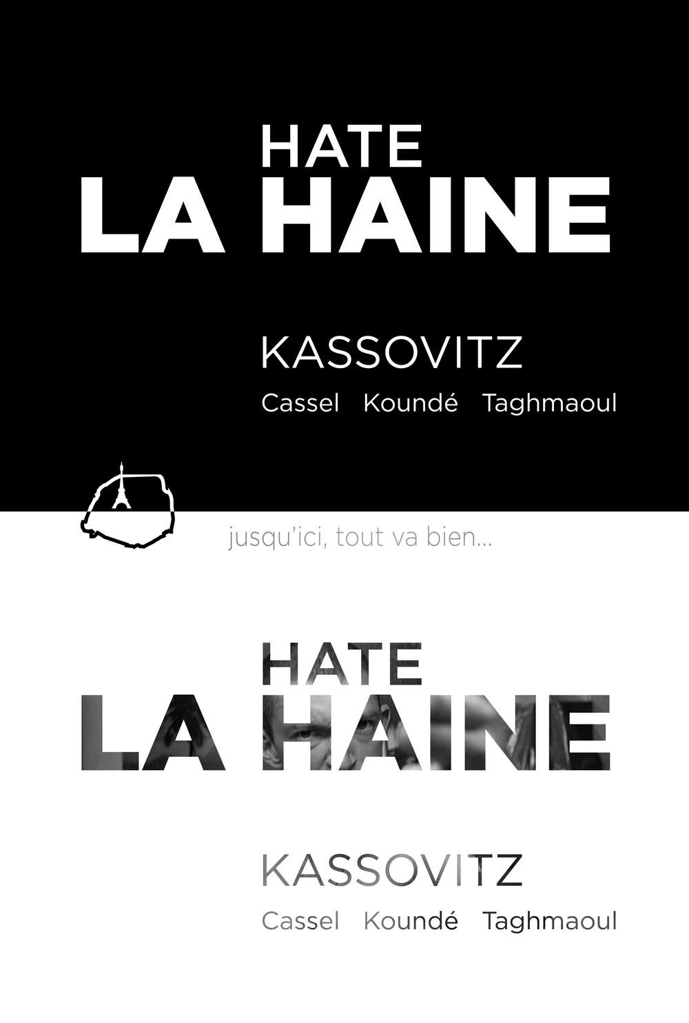 "Movie Poster for ""La Haine"""
