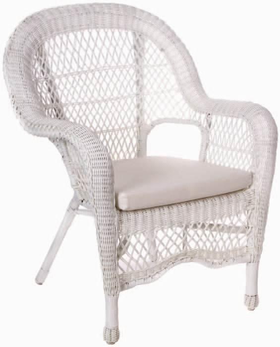 Basket Weave Armchair