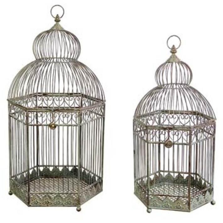 Rustic Bird Cages