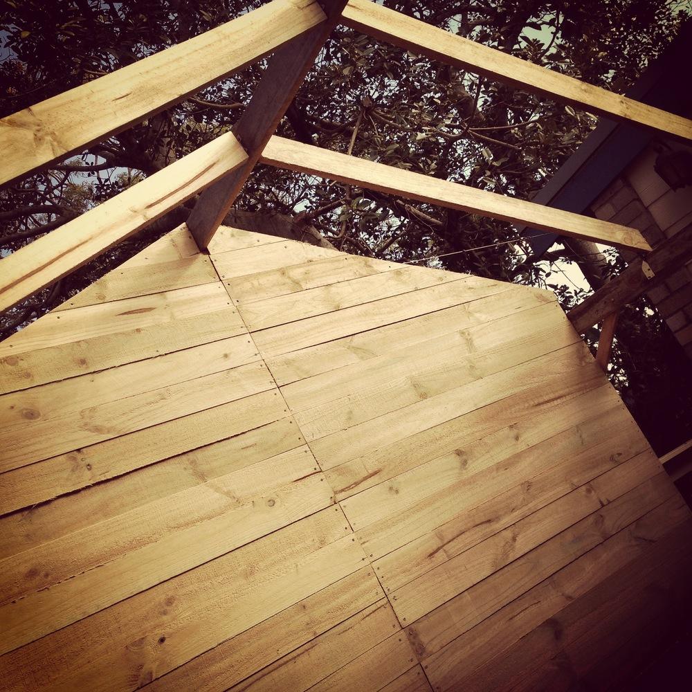 Rustic timber barn / bar