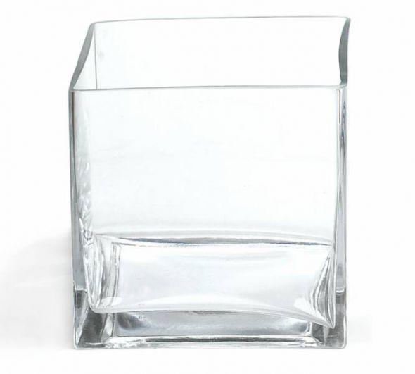Square vases assorted sizes