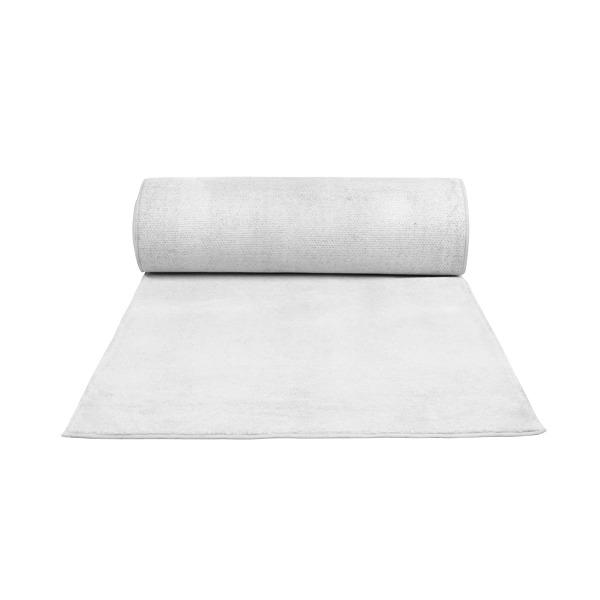 White wedding carpet runner