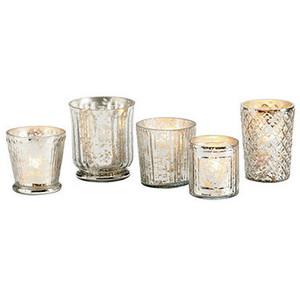Mercury Vases and Votives