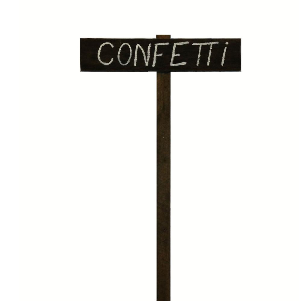 Confetti Sign