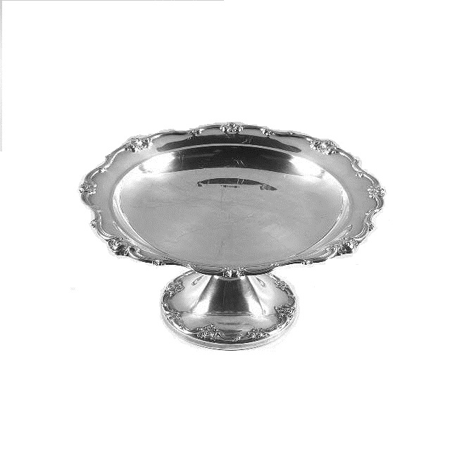 Silver Cake Stands and Trays