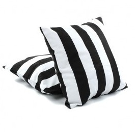 Black and White Cushions